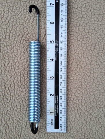 R10 - 7 inch tension spring (sold as a pair)